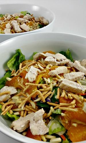Chicken Oriental Salad for Two, gotta try this!