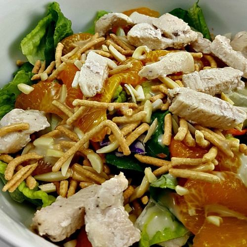 Chicken Oriental Salad for Two, delicious!