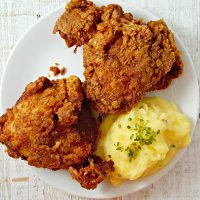 Crispy Fried Chicken for Two - serves 2
