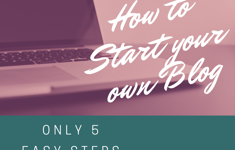 How to Start your own Blog - Wordpress