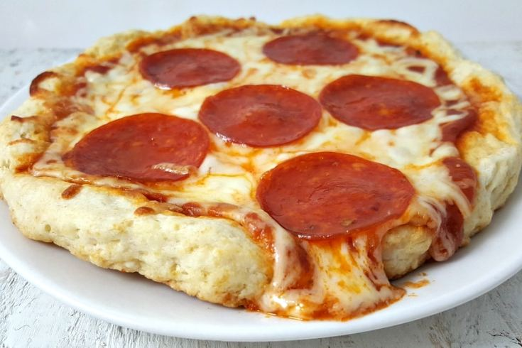 No Yeast Pizza Dough for One Recipe - individual size