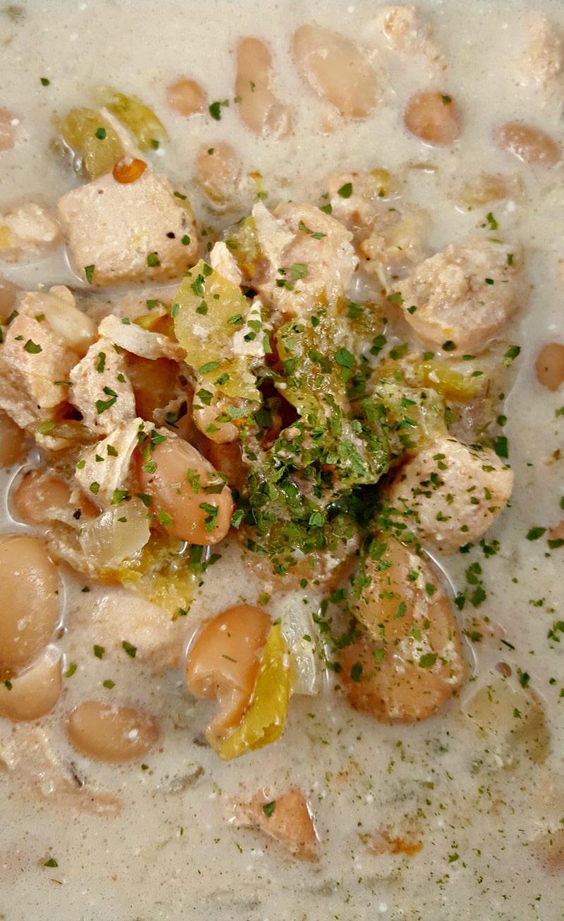 White Chicken Chili for Two - zonacooks.com