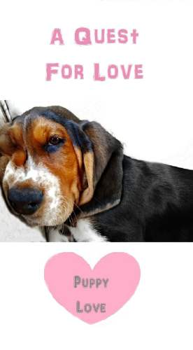 A Quest for Love; Puppy Love - such a sweet story