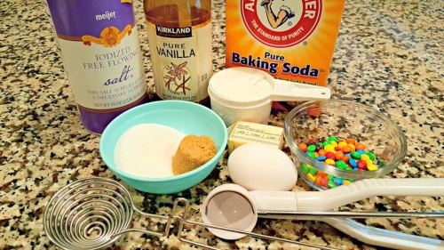 Soft Batch Cookies for Two ingredients