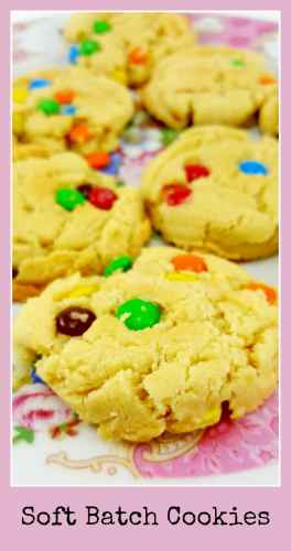 Soft Batch Cookies for Two - makes 4 large or 8 small