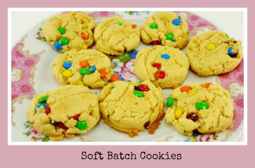 Soft Batch Cookies for Two - soft and gooey, yum!