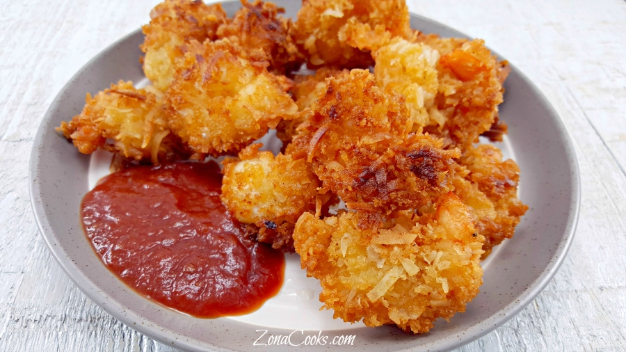 Beer Battered Coconut Shrimp - sweet, crunchy, and delicious!