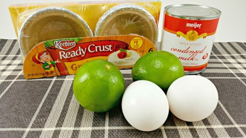 Individual Key Lime Pies ingredients