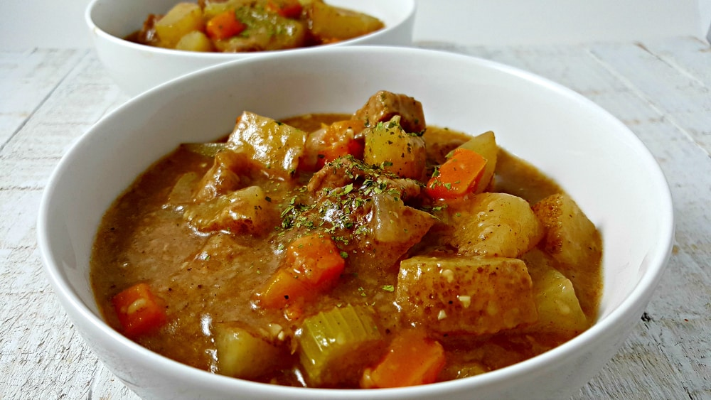 Crockpot Beef Stew Recipe for Two