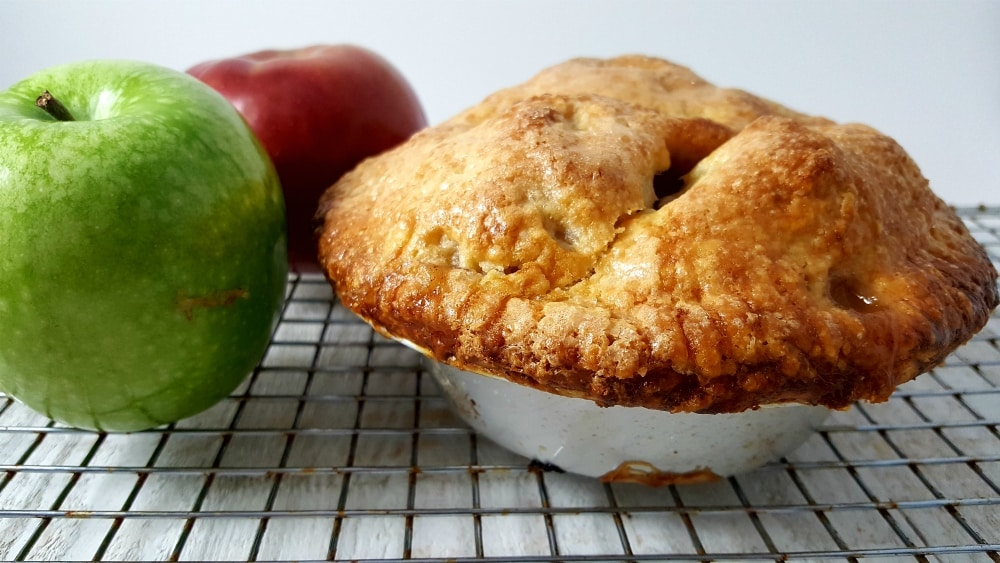 Homemade Apple Pie Recipe - bake until golden brown