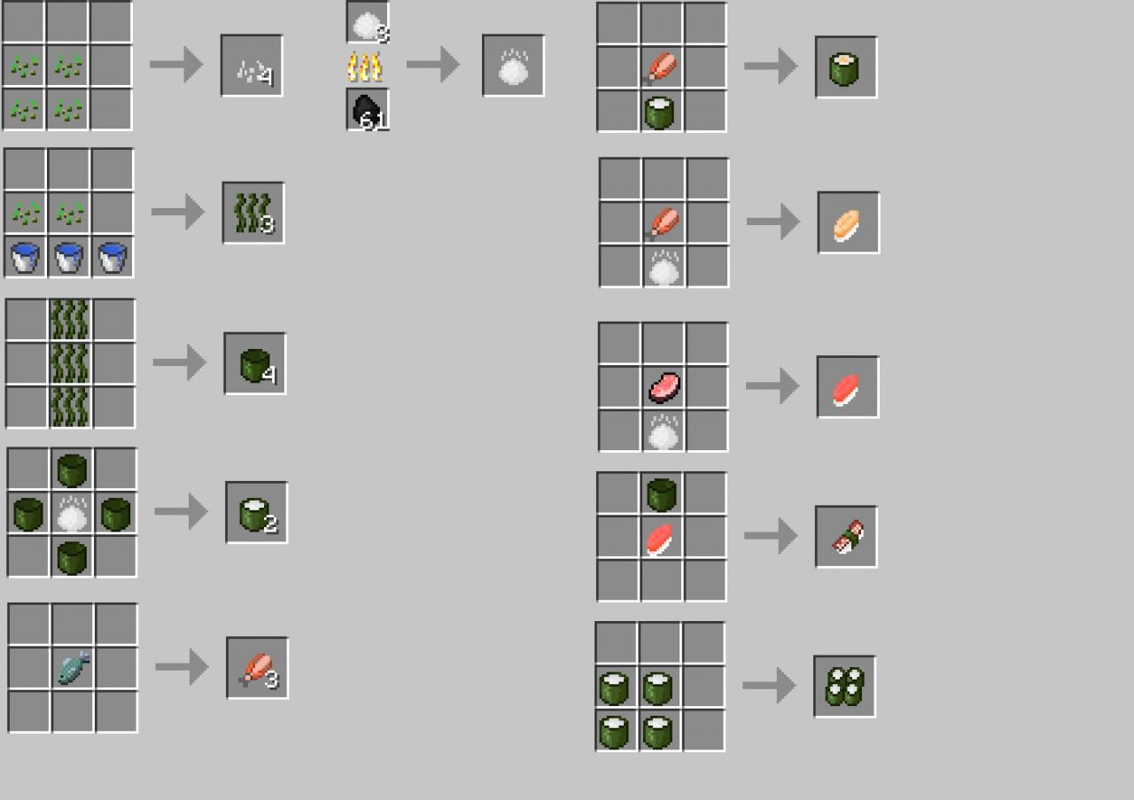 SushiCraft-Mod8