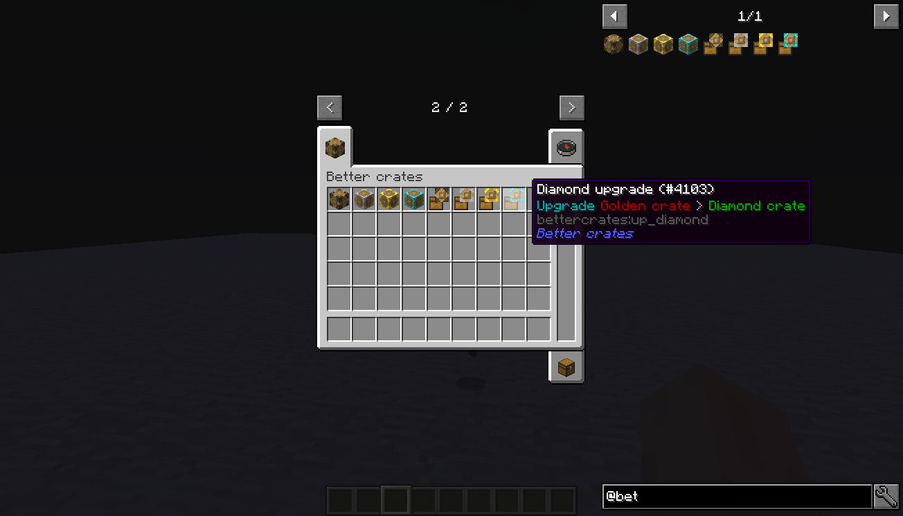 Better Crates Mod 2