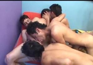 [VIDEO] Latin Teen Orgy