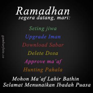 DP BBM Ucapan Ramadhan 1440H Lucu Bergerak Terbaru 2019