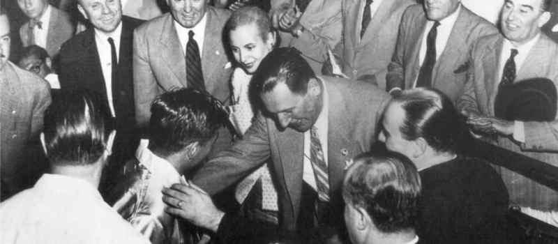 José María Gatica, amigo de Perón y Evita, ídolo popular que murió atropellado en Avellaneda.