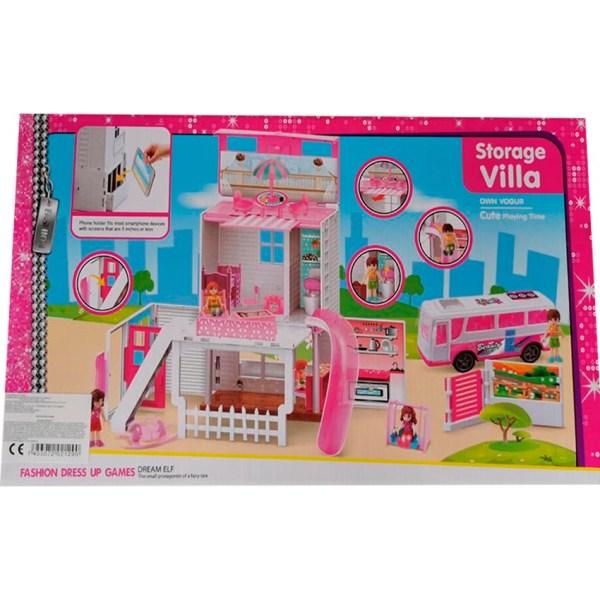 Juguete casa con accesorios para niña