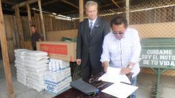 Mormones dieron donación a la ciudad de Piura para fortalecer la erradicación del dengue en dicha ciudad. Cortesía Noticiasmormonas.org.pe