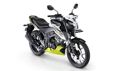 Suzuki GSX150 Bandit white