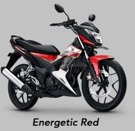 Energetic Red - Warna baru Honda Sonic 150R MY 2019