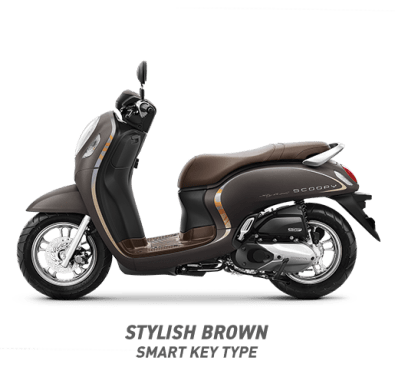 All new Scoopy Stylish brown