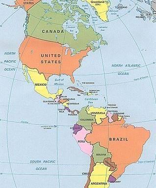 Letak Benua Amerika : letak, benua, amerika, Letak, Geografis, Benua, Amerika, Beserta, Kondisi, Pengaruhnya
