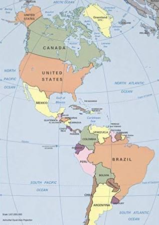 Negara Di Benua Amerika Beserta Ibukotanya : negara, benua, amerika, beserta, ibukotanya, Negara, Benua, Amerika, Ibukotanya, (Utara,, Tengah,, Selatan)