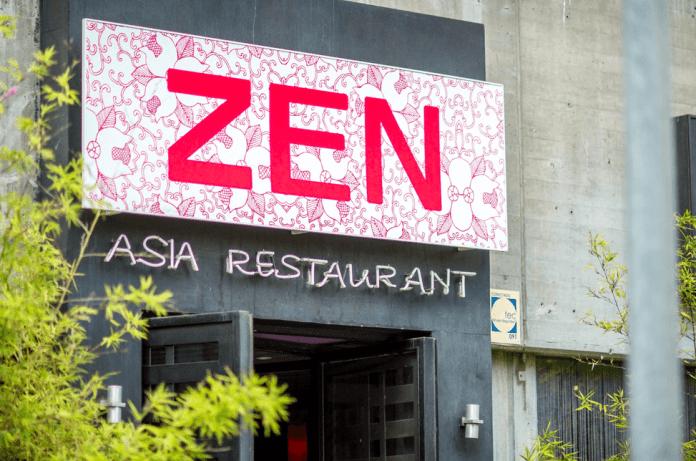 Entrada al restaurante Bamboo Zen - Foto: Zonaretiro.com
