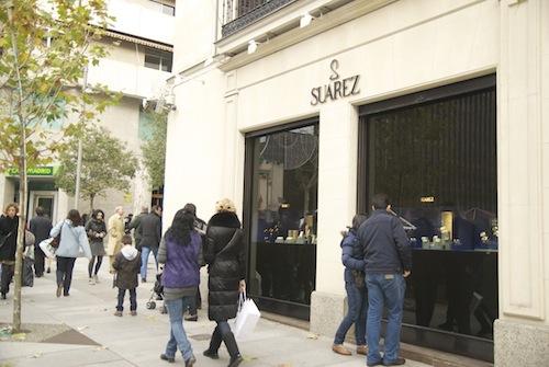 Zona retiro la guardia civil recupera un mill n de euros - Joyeria calle serrano ...