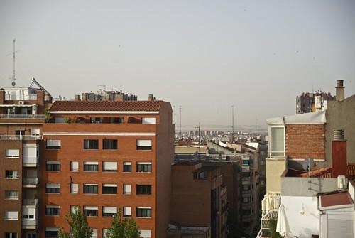 Vistas aéreas de la calle Máiquez - ZR