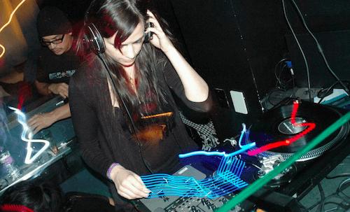 Kristen van Dernoot, en una sesión.