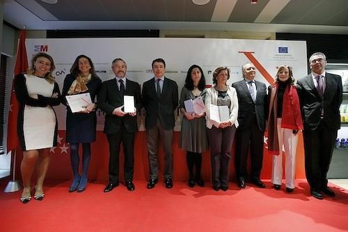 Premios Madrid Empresa Flexible, el pasado 19 de febrero - CAM