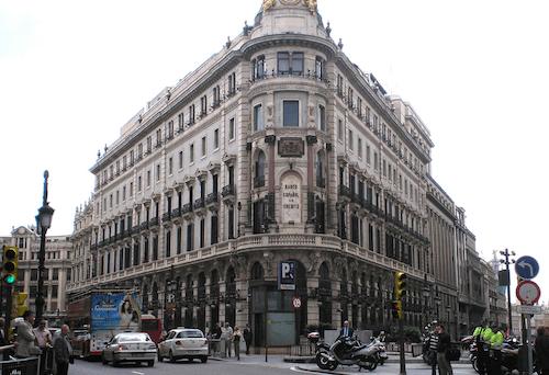 Plaza de Canalejas de Madrid