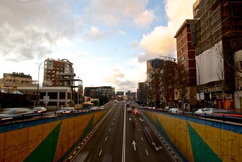 puente avenida america madrid