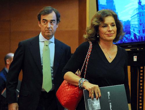 El vicepresidente de OHL, Villar-Mir 'hijo', y Botella - Ayto