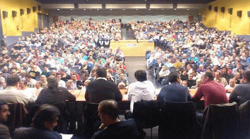 Asamblea de trabajadores del 3 de abril - CCOO Madrid