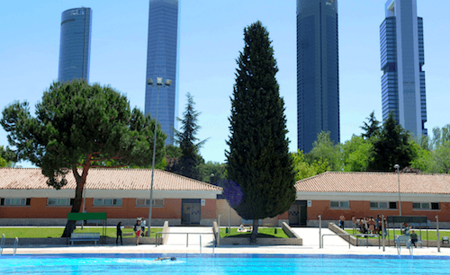 Polideportivo Vicente del Bosque de la Avenida Monforte de Lemos