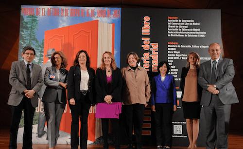 Foto de la presentación del programa municipal de la FLM - Ayto
