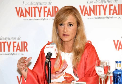 Cristina Cifuentes - Leticia Díaz (Vanity Fair)