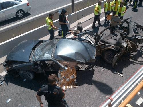 El juez confirma la muerte del conductor - Ayto