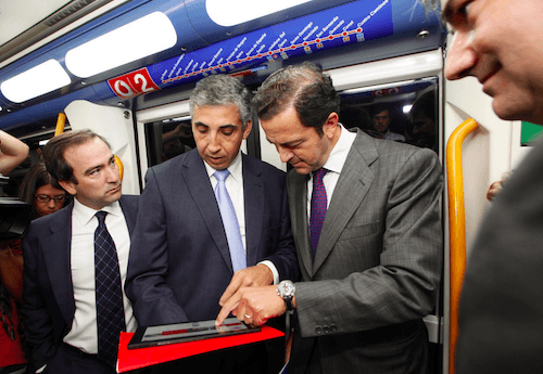 Cavero, el 3 de octubre en la Línea 2 de Metro - MM