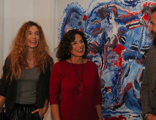 Blanca Cuesta, Ana Botella y Borja Thyssen - Ayto