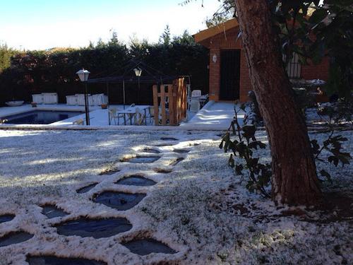 Nieva en Alcobendas - L. Fernández