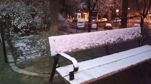 Nieve en Moratalaz - D. L