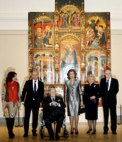 LA REINA PRESIDE INAUGURACIÓN DE NUEVA SALA DEL MUSEO DEL PRADO