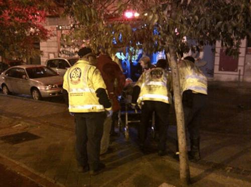 Suceso en la calle Arganda el 1 de enero por la noche - Ayto