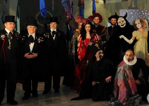 Algunos de los participantes en el Carnaval de Madrid 2014
