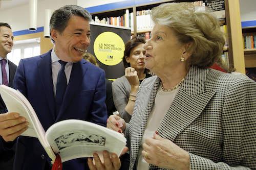 Ignacio González, en la presentación del evento - CAM