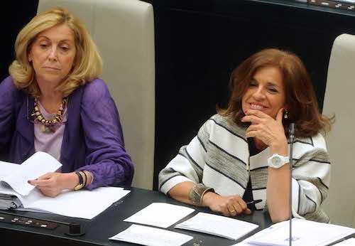 La alcaldesa de Madrid, Ana Botella, este martes 29 de abril de 2014 - Ayto
