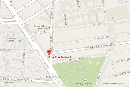 calle-cartagena-madrid-maps