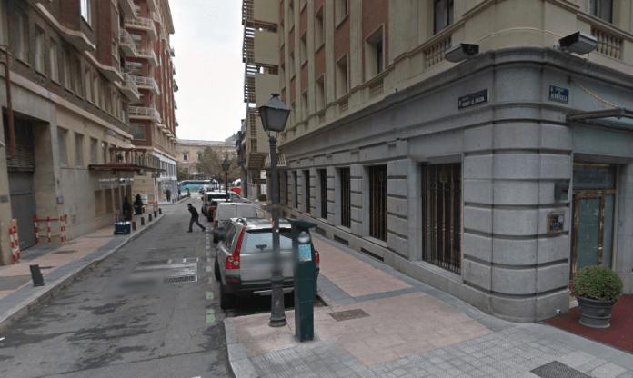 Calle Marqués de Zurgena, en su confluencia con Hermosilla - GM